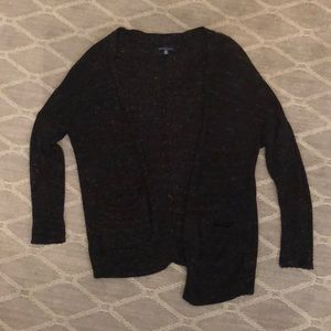 Black specked cardigan